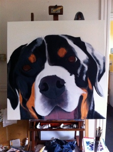 addie underpainting